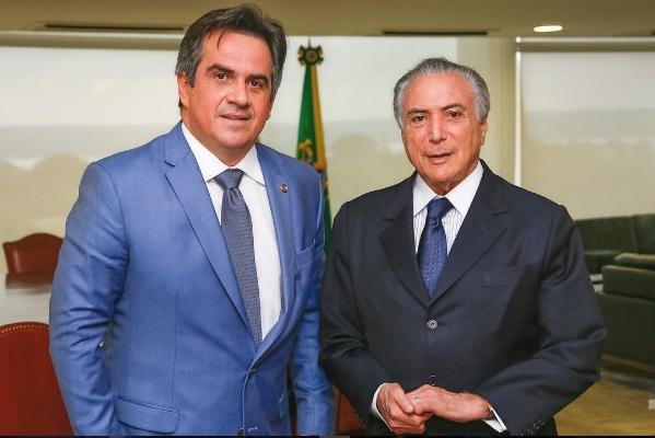Resultado de imagem para CIRO NOGUEIRA E TEMER