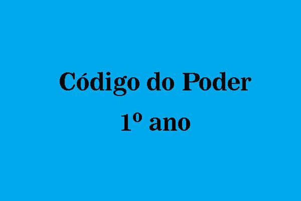 codigodopoder1ano